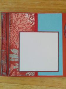 scrap paper use unique mini album